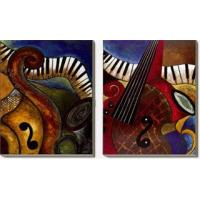 China Music Abstract Oil Painting,  (Gift Oil Painting) A0012 on sale