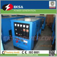 Buy cheap Outdoor use two-wheel soundproof mobile 25kva diesel welder generating set with from wholesalers