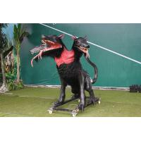 China Snow Proof Realistic Animatronic Animals , Electric Life Size Monster With Fur on sale