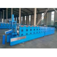 Quality Main Power 4Kw Gutter Forming Machine 17 Stations PPGI / GI / GL Raw Material for sale