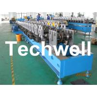 Quality 16 Steps Forming Station Sigma Post Roll Forming Machine For 4mm Sigma Post for sale