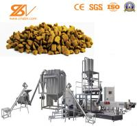 Quality Automatic Dog Cat Pet Food Extruder machine Processing Plant equipment production line for sale