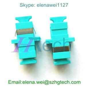Quality Blue Color Telecom Simplex SC Fiber Optic Adapter for sale