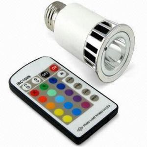 China Energy saving Aluminum Alloy 5w 220v fade RGB LED gu10 colored spotlight on sale