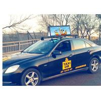 China High Brightness Car Roof Top Taxi LED Display Screen Outdoor Advertising Sign P2.5 P3 P4.81 P5 Full Color 3G 4G on sale