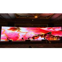 Quality Stage Rental P3.91 Video Wall Displays , Multiform Language Led Panel Screen for sale