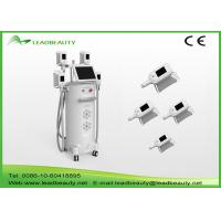Quality Vertical 2000W fat freeze Cryolipolysis slimming machine with 4 handles cooling scupting machine for sale