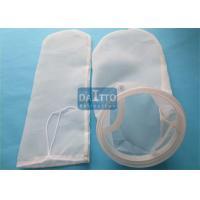 Quality PA66 Nylon Filter Bag For Agriculture Industry , Industrial Water Filter Bags Long Working Life for sale