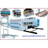 Quality Automatic Corrugated Carton Box Making Machine Flexo Printer Slotter Die Cutter Stacker for sale