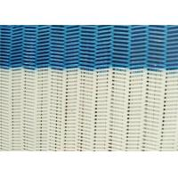 100% Polyester Dryer Spiral Wire Mesh Screen With Large / Medium / Small Loop