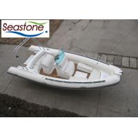 China Teak Rigid Hulled Inflatable Boat With PVC Or Hypalon Material on sale