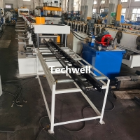 Buy cheap 600mm Ladder Type Cable Tray Profile Roll Forming Machine Auto Size Adjustable from wholesalers