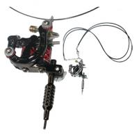 Quality rotary mini tattoo machine gun with necklace  for liner and shader for sale