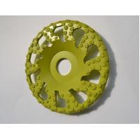 Quality Vacuum Brazed Diamond Grinding Wheel 5 Inch For Surface Grinding / Edge Chamfering for sale