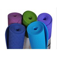 Quality wholesale manufacturing tpe yoga mat 3-6mm Custom embossed logo Yoga mat PVC/TPE/EVA bulk yoga mats for sale