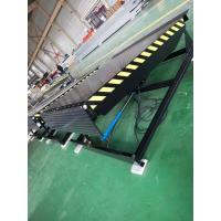 Quality Push Button Mechanical Loading Dock Leveler Easy Operation Variable Speed for sale