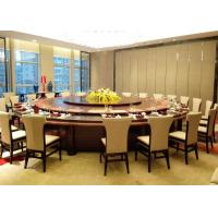 Quality Big Round Luxury Commercial Restaurant Furniture With Contemporary Dining Chairs for sale