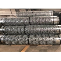 China Bto-22 Galvanized Razor Concertina Barbed Wire Coils For Security on sale