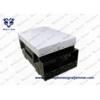 Quality 200W Powerful Waterproof WiFi Bluetooth 3G Mobile Phone Jammer With Directional Panel Antennas for sale