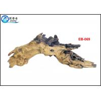 Quality Aquarium Resin Driftwood Ornaments , Handmade Tree Root Aquarium Decaration for sale