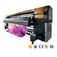 China 2017 top sale year 3.2m printhead dx5 eco solvent printer banner uv printing machine for  fabric factory  AP-3300S on sale