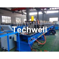 Quality Storage Pallet Shelving and Racking Upright Roll Forming Machine for 80 / 90 / 100 / 120mm Upright Rack Profiles for sale