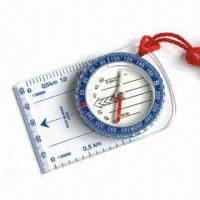 China Field Compass, Measuring 85.4 x 54 x 11mm on sale