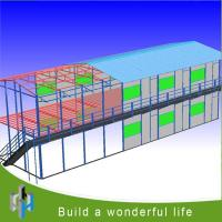 Quality China Supplier Africa/Asia/South America Light Steel Prefab House for sale
