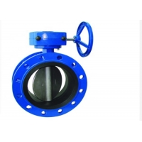 China DN200 Mono Flange Butterfly Valve on sale