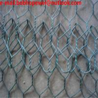 Quality Hexagonal wire mesh, chicken wire mesh, poultry wire 1/2 hex mesh chicken wire/22 Ga. Chicken Poultry Wire Fence 1 Hex for sale