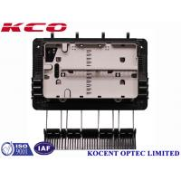 Quality FTTH Drop Cable Fiber Optic Splice Closure For 1x8 Splitter KCO-GJS08 3 inlet 3 outlet for sale