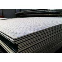 Quality Adjustable Thickness Checker Plate Steel Sheet Carbon Tear Drop Diamond A36/Ss400 for sale