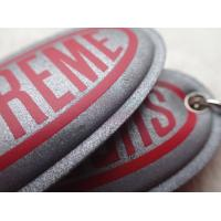 Quality Custom Silver Reflective Screen Printed Keyring Chain For Promotion Gift for sale