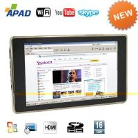 China Pocket PC  APAD Tablet PC 7 Inch Touch Screen(Google Android + WIFI) on sale