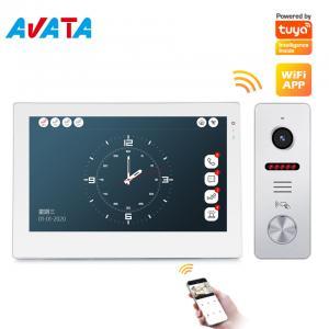 Quality Ahd Smart Phone Tuya Video Intercom System Color Video Doorbell Villa Video Door Phones Remote Unlock for sale