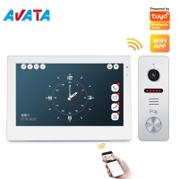 Quality Home Security Tuya Intercom Video Door Phone WiFi Interphone Doorbell with IR night for sale