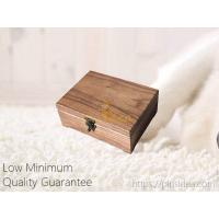 Quality Luxury black walnut laser engravable pet memorial gift wooden tribute keepsake urn box with lock. Small order, for sale