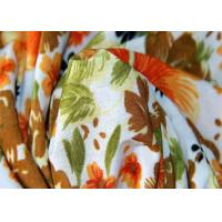 China Printed 4 Way Stretch Polyester Knit Fabric Flame Retardant Tear - Resistant on sale