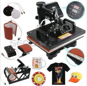 China Cheap Multifunctional T-shirt Mug Printing Heat Press Machine 8 in 1 on sale