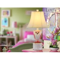 Buy cheap owl children bedroom creative table lamp from wholesalers