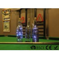 Buy Fashionable Wine Bottle Led Lights , Wine Bottle Lights Battery Operated at wholesale prices