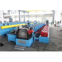 China Upright Sheet Metal Forming Machine , Gutter Roll Forming Machine Gear Box on sale