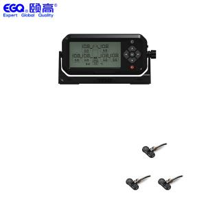 China LCD Display 3 Tire RV Trailer Tire Pressure Monitoring System on sale