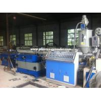 Quality Single Wall Corrugated Plastic Extrusion Equipment Hdpe Pipe Making Machine for sale