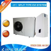 Quality 50hz 10.5 Kw Split Air To Water Source Heat Pump Coefficient Of Performance High Cop Evi for sale