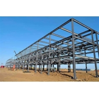 Quality Hot Rolled Steel Metal High Rise Building Structures Bolted Connection for sale
