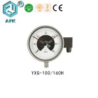 Quality Low Pressure Natural Gas Test Gauge , Electric Contact Manometer Pressure Gauge for sale