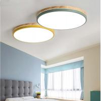 Quality Round Wood frame ceiling lights for Indoor home Lighting Fixtures (WH-WA-09) for sale