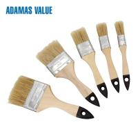 Quality Natural Fiber Paint Brush 38-44mm Length Out For Water - Borne Coatings for sale