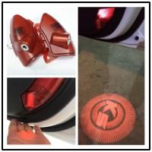 Quality KIA K5 2010-2013 Led high brightness car projector logo light /LED ghost shadow light for sale